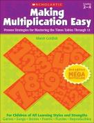 Making Multiplication Easy, Grades 2-4