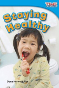 Staying Healthy (Upper Emergent) (Time for Kids Nonfiction Readers