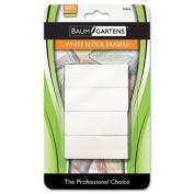 Block Eraser, Latex Free, White, 4/Pack