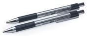 F-301 Retractable Ballpoint Pen, Black Ink, Fine, 2 per Pack