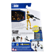 Star Wars The Clone Wars 3.75 inch Basic Action Figure - Battle Droid CW19