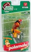 Mcfarlane Toys Ncaa College Football Sports Picks Series 3 Action Figure Troy Polamalu (Usc Trojans) Red Jersey