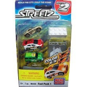 Mega Bloks Streetz Car Packs Series - Fast Pack 1