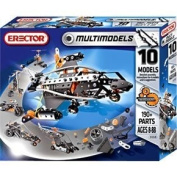 Schylling 190 pieces 10 Model Erector Set