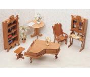 Greenleaf Library Furniture Kit Set - 2.5cm Scale