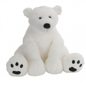 Animal Alley 15.5 inch Polar Bear - White