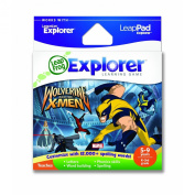 LeapFrog Leapster Explorer Educational Game Cartridge - Wolverine and the X-Men