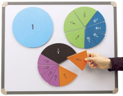 EDUCATIONAL INSIGHTS EI-4804 FOAM MAGNETIC FRACTION CIRCLES