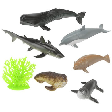 Animal Planet Sea Life In A Storage Bucket By Unbranded