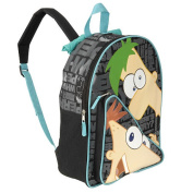 Phineas & Ferb 16 inch Backpack - Black