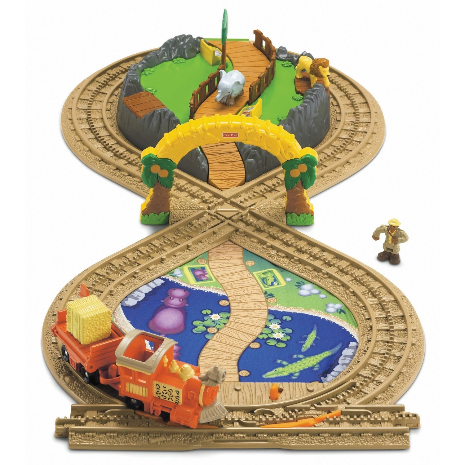 Fisher price geotrax on the go zoo set by fisher price shop share this product buycottarizona