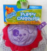Zhu Zhu Puppies Carrier - Purple Polka Dot