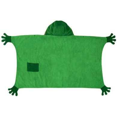 Kidorable Kidorable frog towel medium Medium Frog Towel with Hood and Pocket