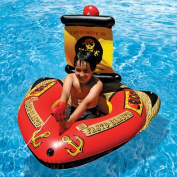 Inflatable Pirate Ship with Action Squirter