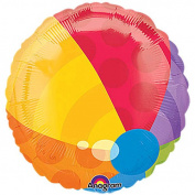 Beach Ball 46cm Mylar Balloon