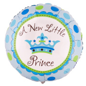Party Destination 190627 A New Little Prince 18 in. Foil Balloon