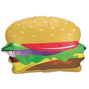 Hamburger 46cm Mylar Balloon