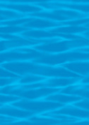 Amscan 28569 50 Ocean Blue Room Roll
