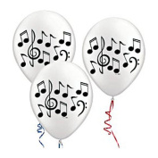 Musical Notes 11 Inch Balloons