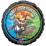 Pokemon Happy Birthday 46cm Mylar Balloon