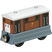 Thomas & Friends Wooden Railway Engine - Toby the Tram
