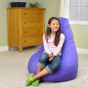 Dorm Style Deluxe Beanbag Purple