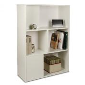 Way Basics Eco-Friendly Tribeca Bookcase and Storage - White