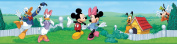 RoomMates Repositionable Childrens Wall Sticker Border - Disney Mickey Mouse and Friends
