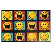 La Rug Multi Colored Rug - Happy & Smiling - 39x58 inch