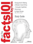 Studyguide for Making of Modern South Africa