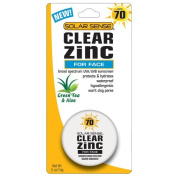 Solar Sense SPF# 70 Clear Zinc Face 15ml Jar
