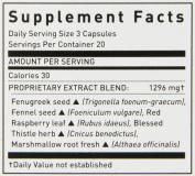 Gaia Herbs Lactate Support 60 capsules
