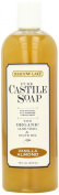 Shadow Lake Castile Soap Liquid, Vanilla Almond, 470ml Bottles (Pack of 6)
