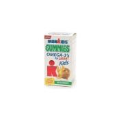 Iron Kids Omega-3's for Smart Kids Gummies, Tropical 60 Gummies