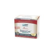 Global Health Trax ThreeLac Probiotic Dietary Supplement, Lemon 60 packets