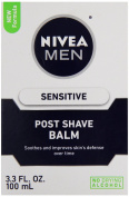 Nivea for Men Sensitive Post Shave Balm, Active Comfort System, 100ml Bottles