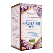 ReserveAge Organics The World's Finest Resveratrol 250 mg 60 vegetarian capsules