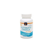 Nordic Naturals Ultimate Omega + CoQ10 Purified Fish Oil 1000 mg Soft Gels 60 soft gels
