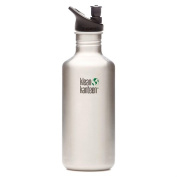 Klean Kanteen 1180ml Stainless Water Bottle w/ Sport Cap 2.0