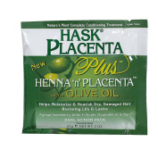 Hask Placenta Plus Henna 'n' Placenta with Olive Oil