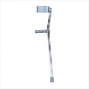 Drive Medical 10403HD Adult Bariatric Steel Forearm Crutches