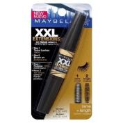Maybelline XXL Extension XX-Treme Length Microfiber Mascara, Brownish Black 592 1 ea