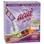 Healthy To Go Natural Energy Boost, Tropical Punch, 24 sticks