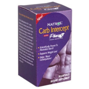 Natrol 0212118 Carb Intercept with Phase 2 Starch Neutralizer - 60 Capsules