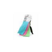 Scunci Effortless Beauty Wide Stretch Basic Neon Headwraps,5pc