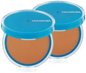 CoverGirl Clean Oil Control Pressed Powder, Soft Honey (W) 555, 10ml Pan