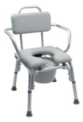Platinum Collection Deluxe Padded Bath Seat or Shower Chair- Without Support Arms, Ea