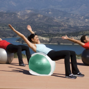 Gaiam Total Body Balance Ball (65 cm) 1 ea