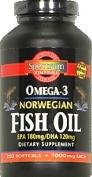 Spectrum Essentials, Fish Oil, 1000 mg, 250 Softgels