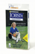 Jobst 119269 Womens Casual 8-15 mmHg Knee High Socks - Size & Color- White Small